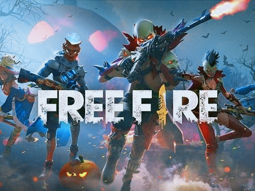 Free fire game on the mobile version.