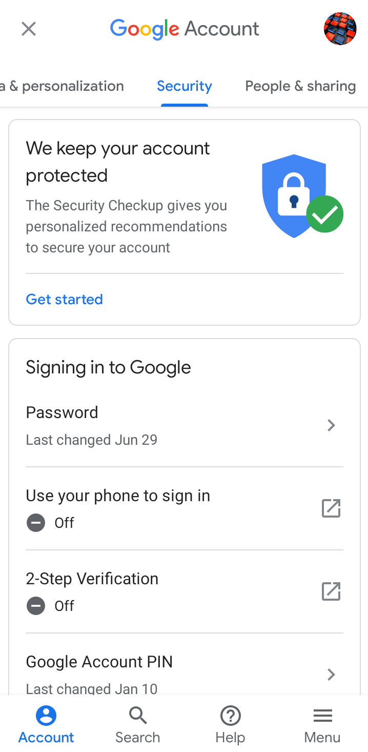 Setup 2 Step Verification in Gmail 2