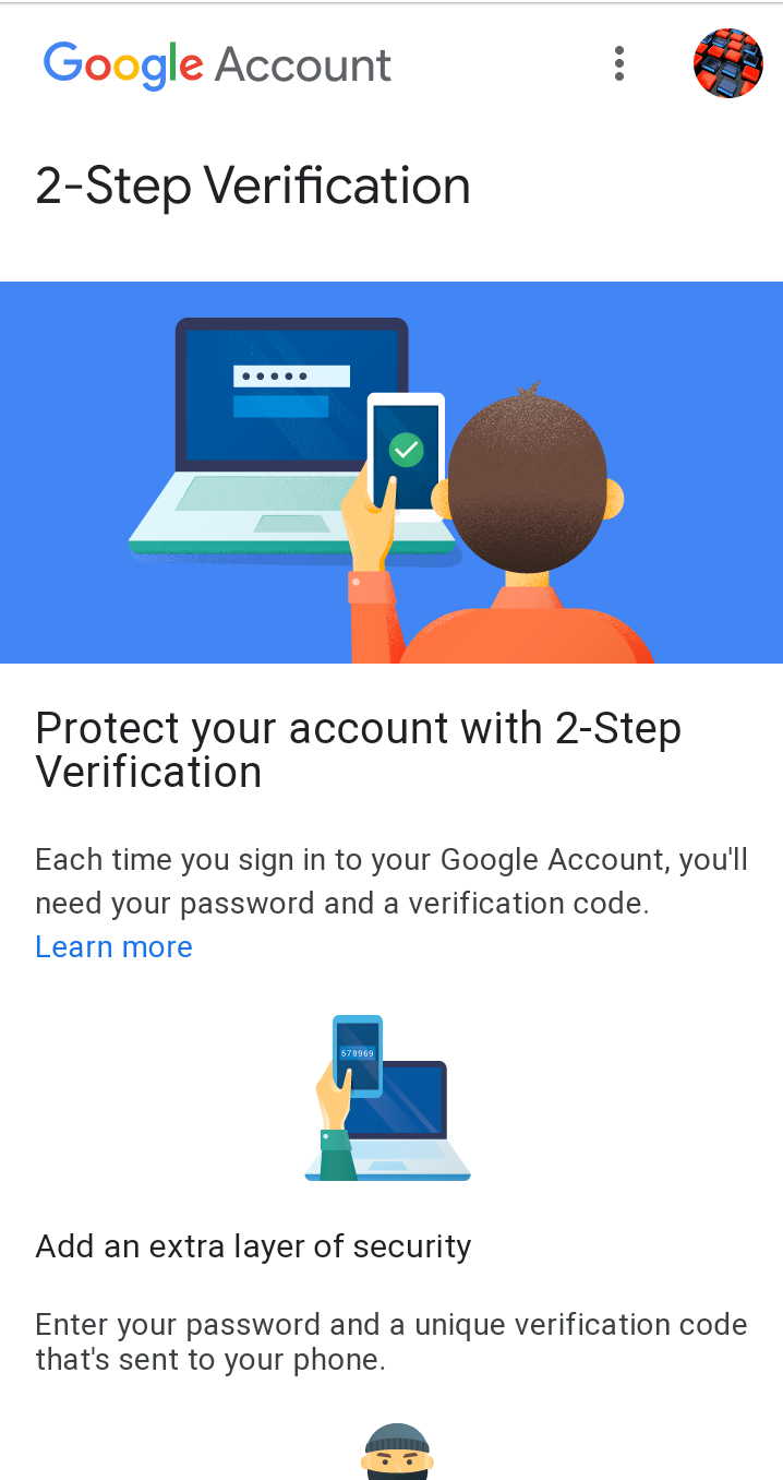 Setup 2 Step Verification in Gmail 1