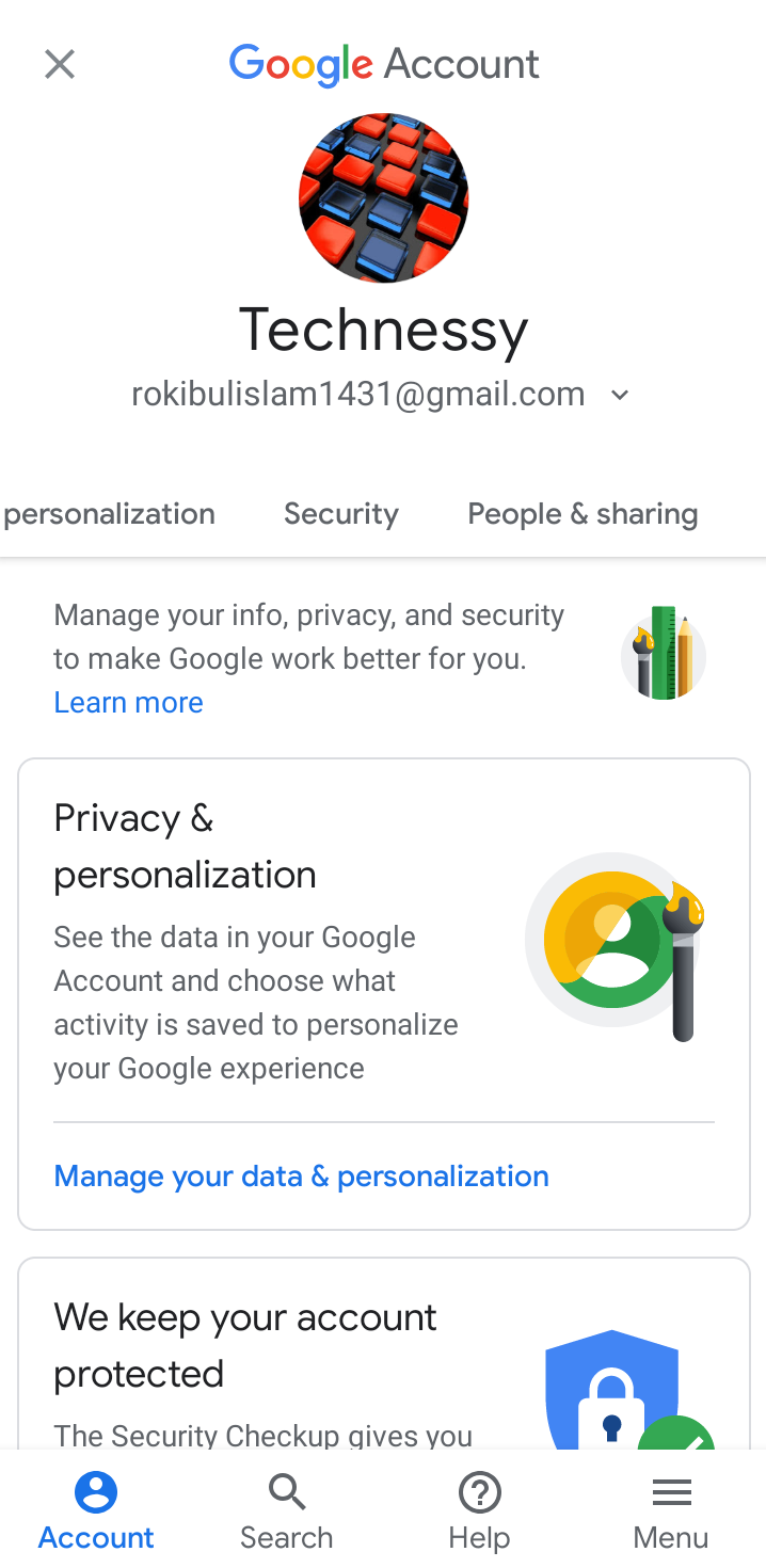 Setup 2 Step Verification in Gmail